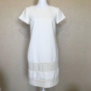 Ann Taylor White Shift Dress